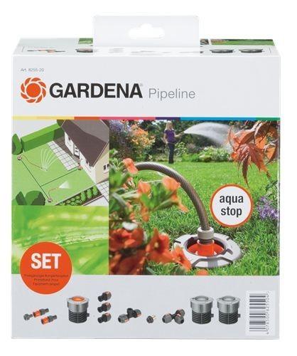 gardena start set f r garten pipeline gardena bew sserungstechnik pipeline. Black Bedroom Furniture Sets. Home Design Ideas